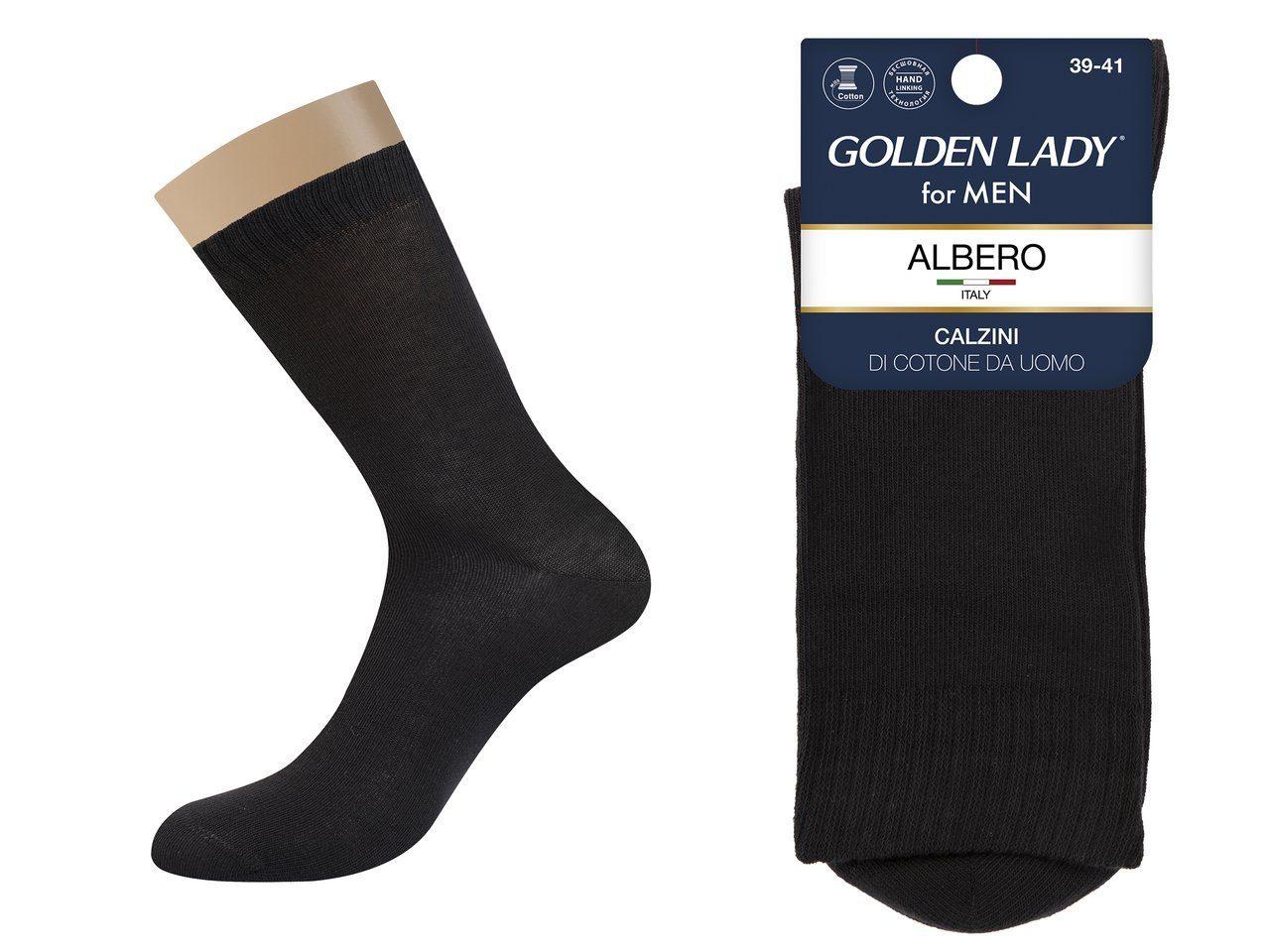 Носки мужские Golden Lady Альберо Черный 42-44