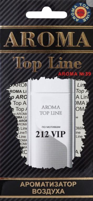 Ароматизатор на зеркало Aroma Top Line N39 Carolina Herrera 212 VIP