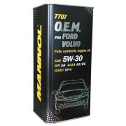 Масло моторное 5w30 Mannol O.E.M. для Ford Volvo 7707 SN/CF 1л