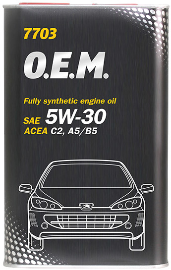 Масло моторное 5w30 Mannol O.E.M. для Peugeot Citroen 7703 1л