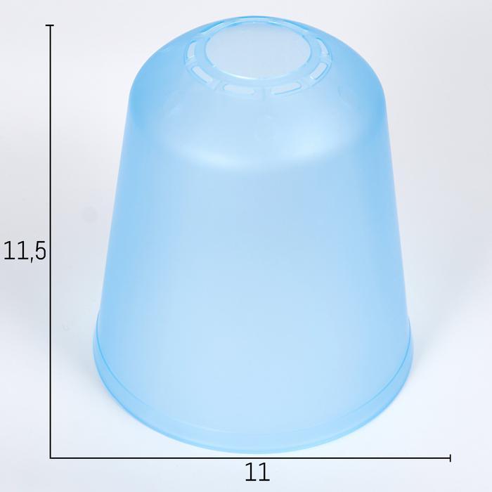 Плафон универсальный Фабрика Успеха Цилиндр 11хх11х12см синий