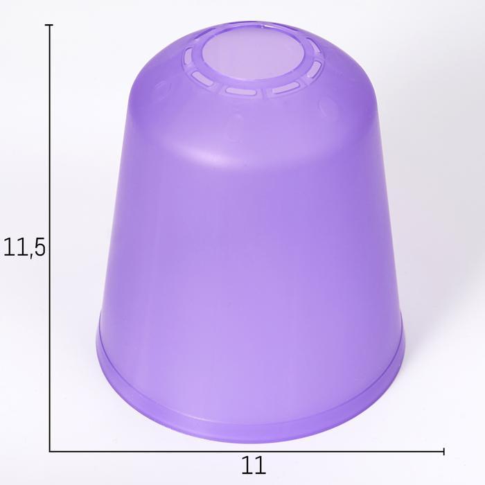 Плафон универсальный Фабрика Успеха Цилиндр 11хх11х12см фиолетовый