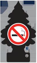 Ароматизатор на зеркало Елка Little Trees 17037 не курить