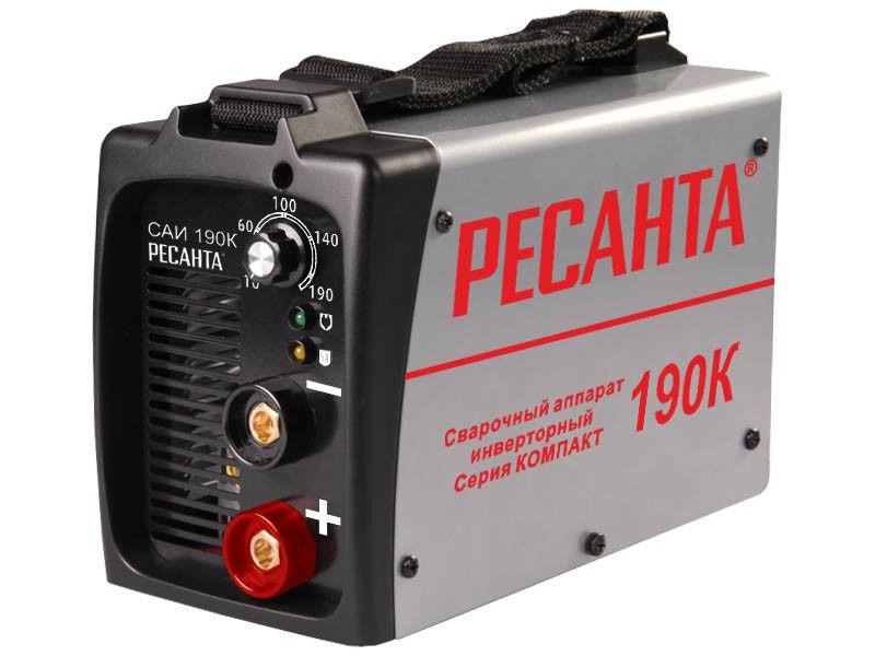 Аппарат сварочный Ресанта САИ-190К компакт