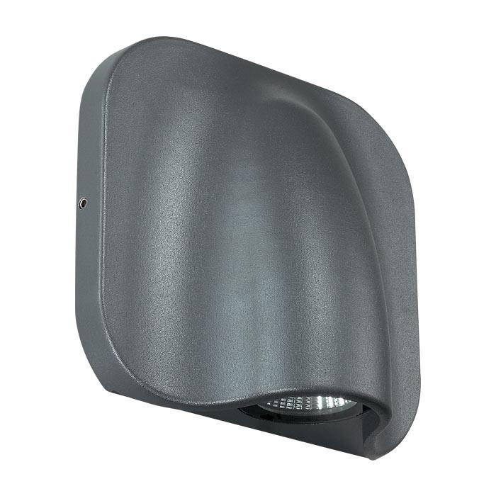 Светильник ландшафтный Novotech 357414 STREET NT17 167 темно-серый IP54 LED 3000K 3W 220-240V KAIMAS