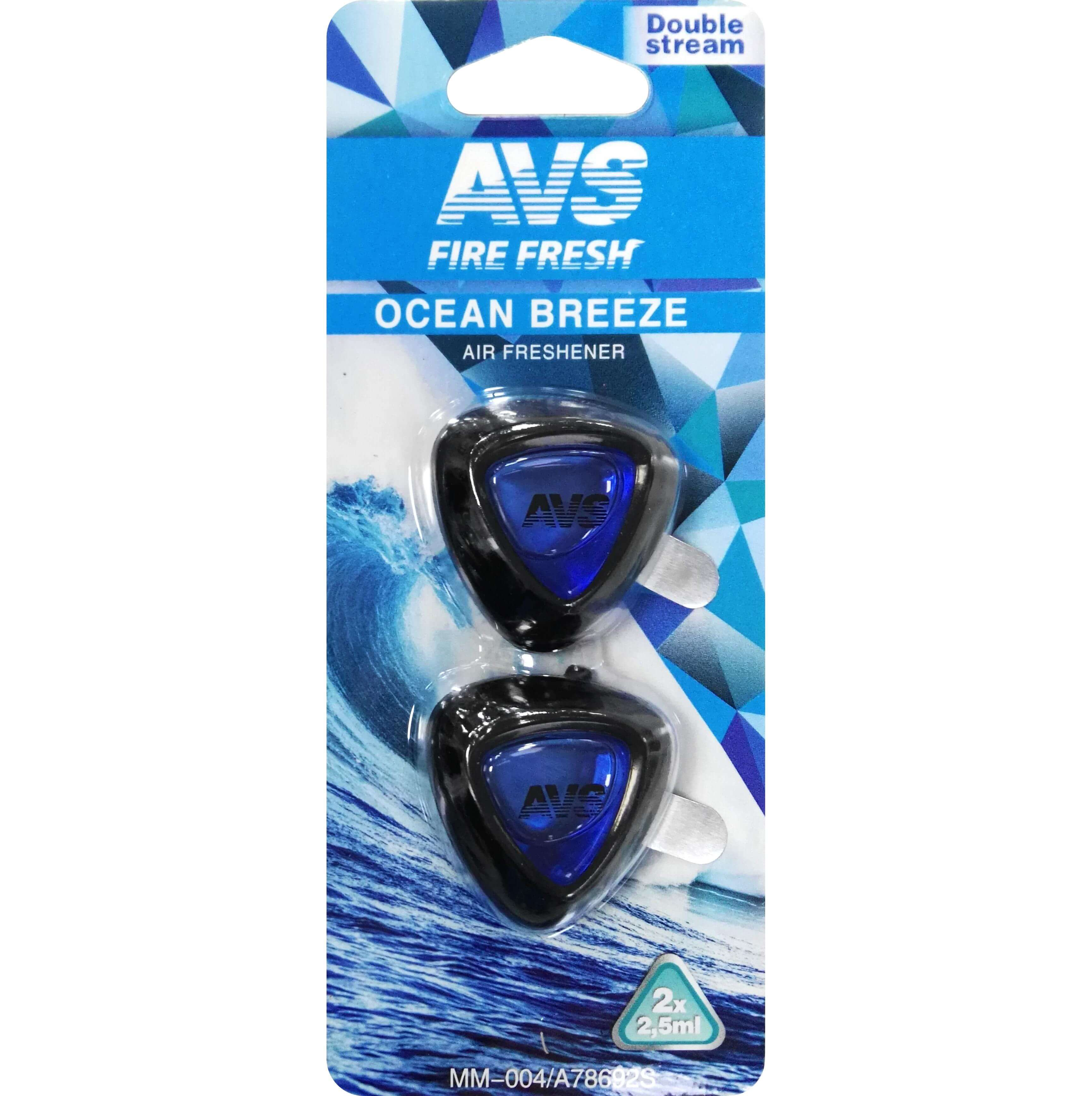 Ароматизатор на дефлектор AVS MM-004 Океанский бриз