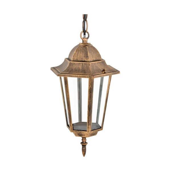 Светильник садово-парковый подвесной Camelion бронза 4105 60W Е27 IP33
