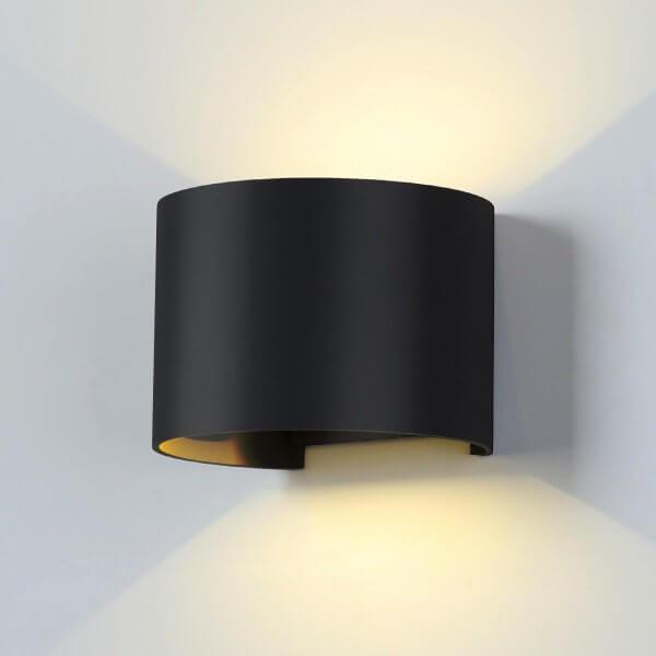Светильник уличный Elektrostandard 1518 TECHNO LED BLADE черный