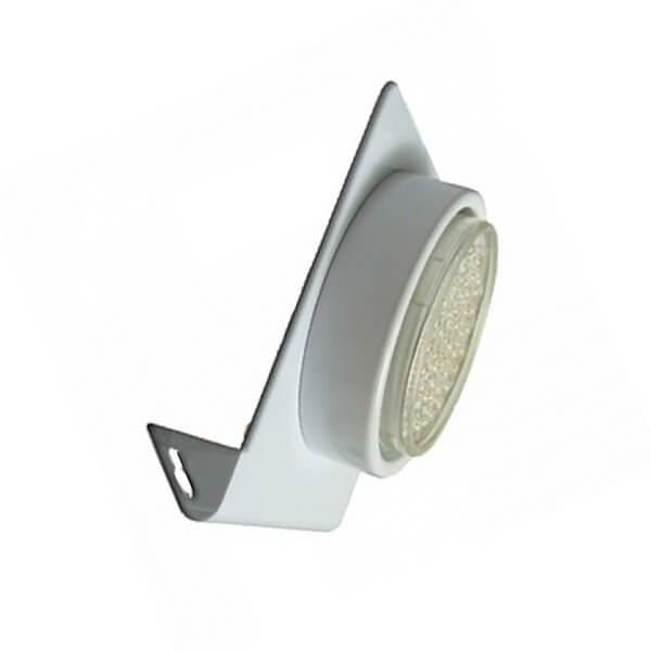 Светильник настенный Ecola 1х13Вт сатин/хром GX53