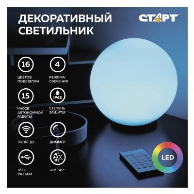 Светильник декоративный Старт Globe 250мм