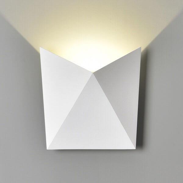 Светильник уличный Elektrostandard 1517 TECHNO LED BATTERFLY белый