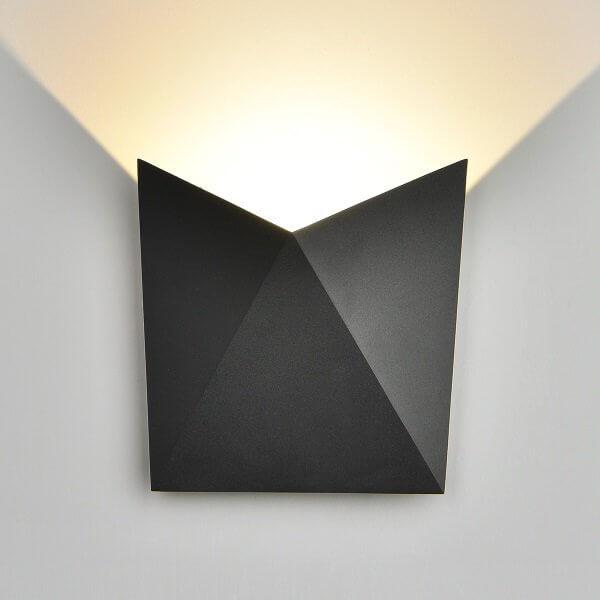 Светильник уличный Elektrostandard 1517 TECHNO LED BATTERFLY черный