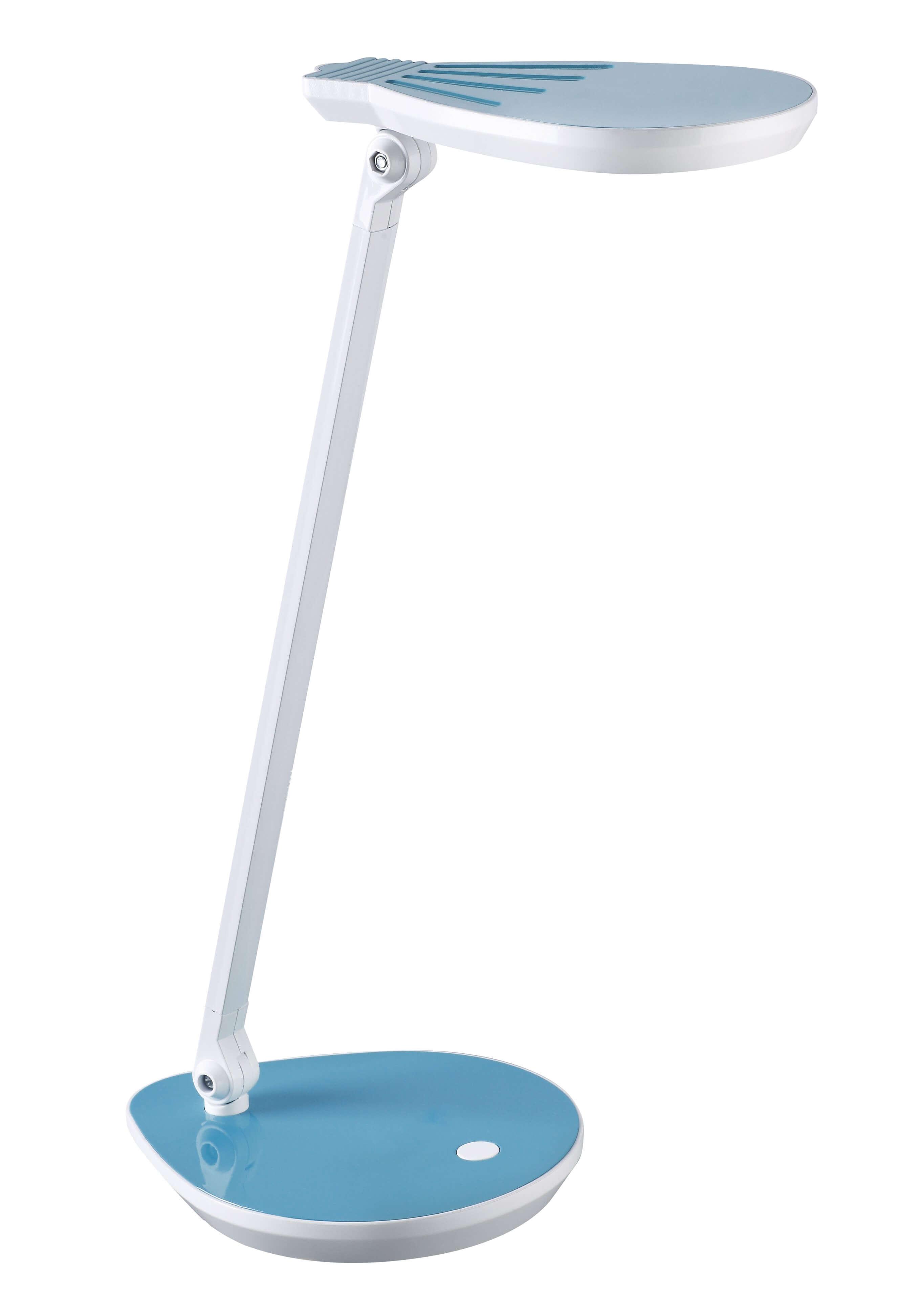 Светильник настольный Старт 5Вт голубой кнопка включения