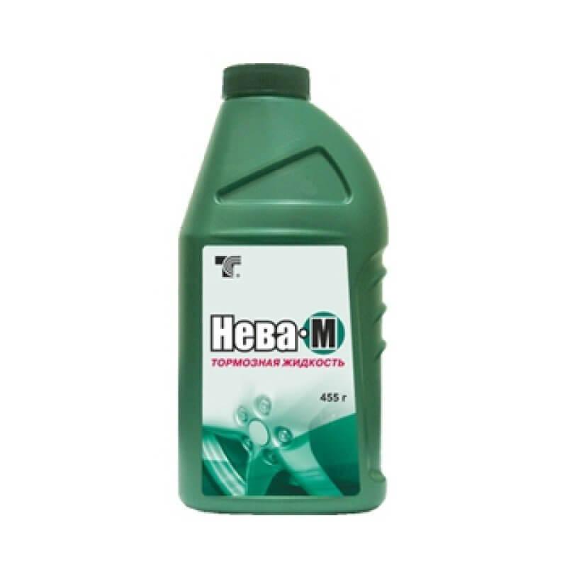 Жидкость тормозная Нева-М DОТ-3 455г