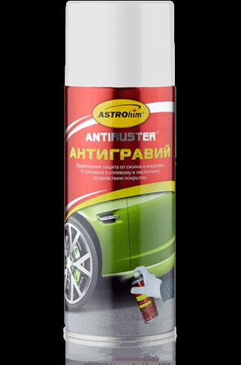 Антигравий белый серия Antiruster аэрозоль