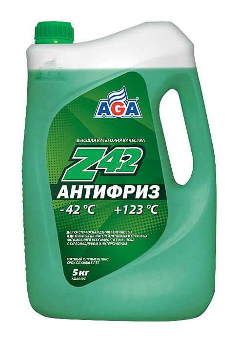 Антифриз 5л зеленый AGA