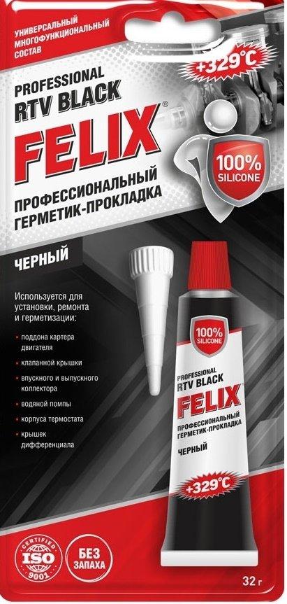 Герметик-прокладка FELIX черный 85г