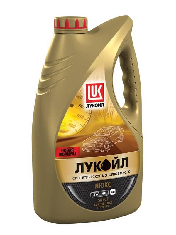 Масло моторное Люкс 5W40 4л Лукойл