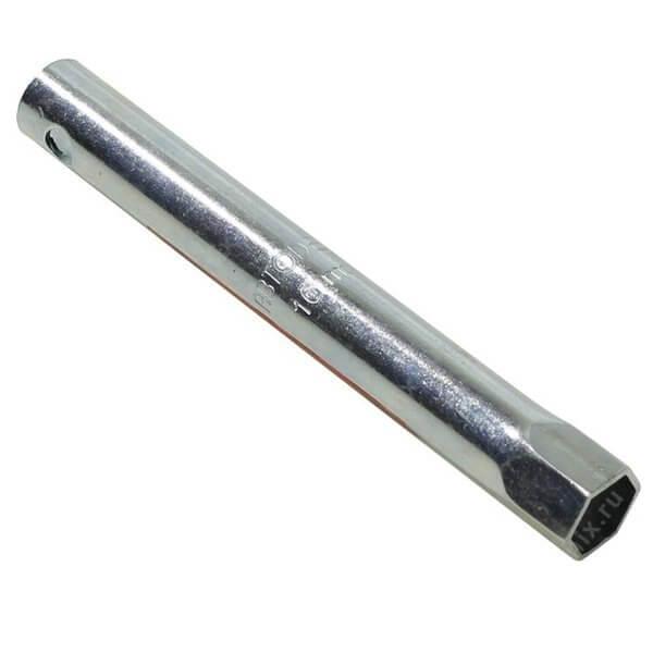 Ключ свечной трубчатый 16мм 160мм с уплотнителем АвтоДело