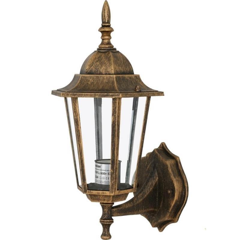 Светильник садово-парковый настенный Camelion бронза 4101 60W Е27 IP43