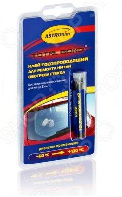 Клей токопроводящий для ремонта нитей обогрева стекол серия Total Bond блистер