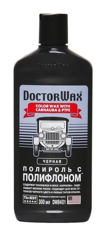 Полироль черная с полифлоном DoctorWax