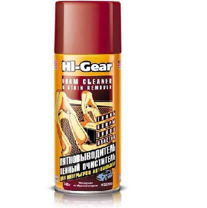Очиститель и пятновывод.пенный Hi-Gear