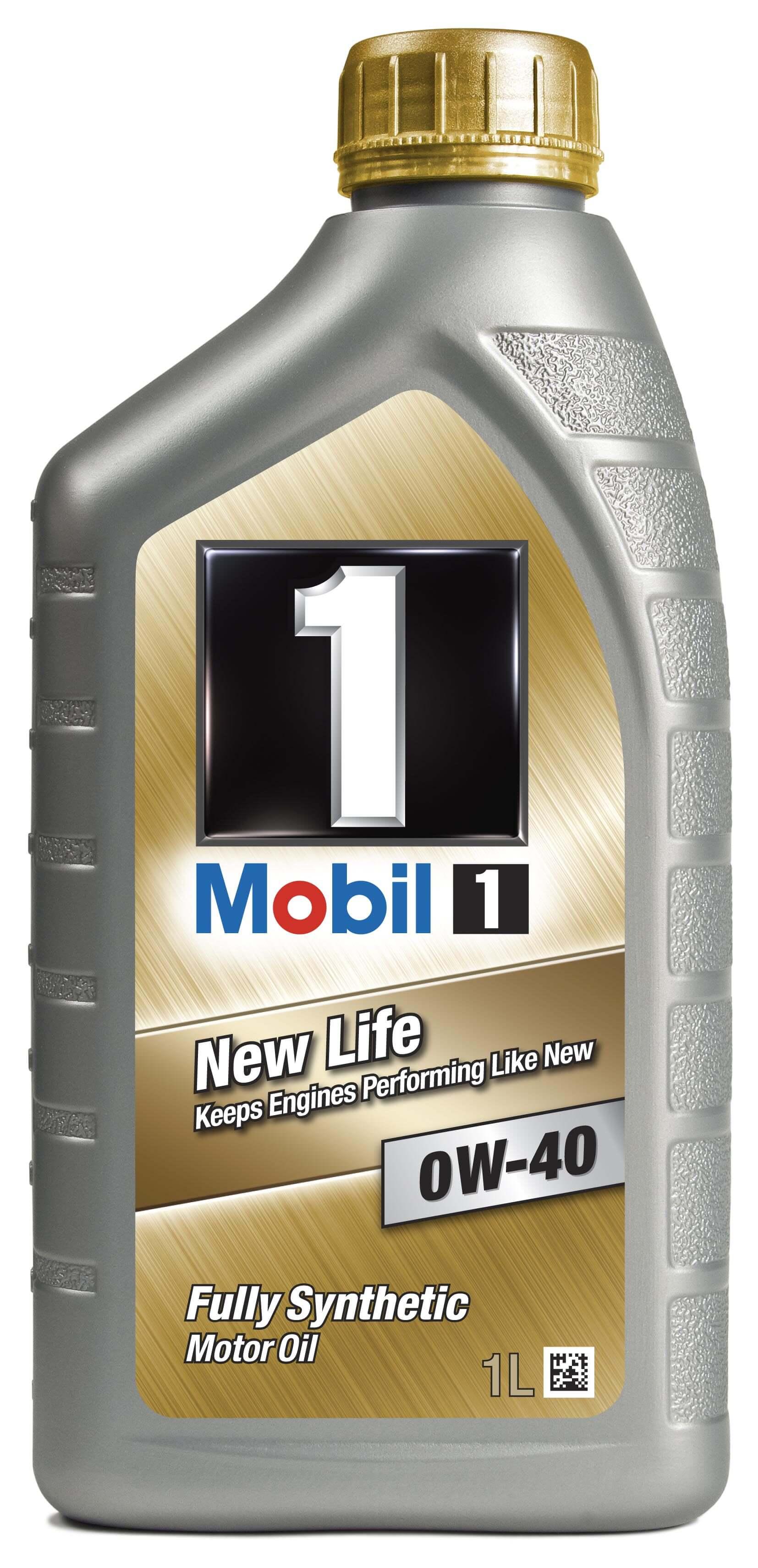 Масло моторное MOBIL 1 0W-40, 1л (NEW LIFE)