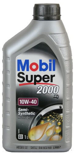 Масло моторное MOBIL SUPER 2000 X1 10W-40, 1л