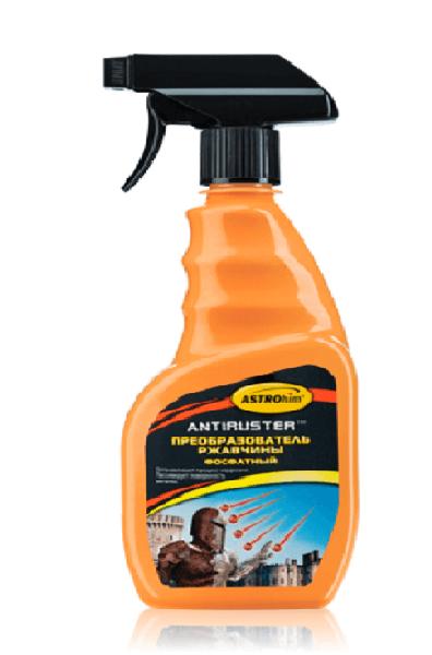 Преобразователь ржавчины фосфатный серия Antiruster спрей